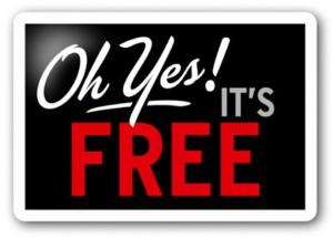 Écht gratis? Ja, écht gratis!