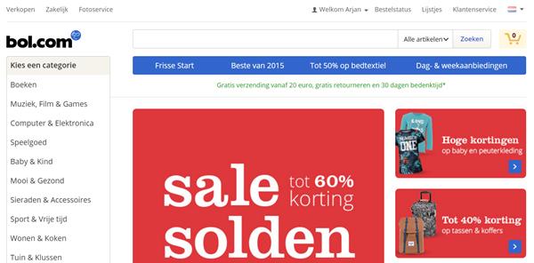 Vooral als je webshop hebt, moet je zorgen voor een drempelloze route naar de uiteindelijke verkoop van een product.
