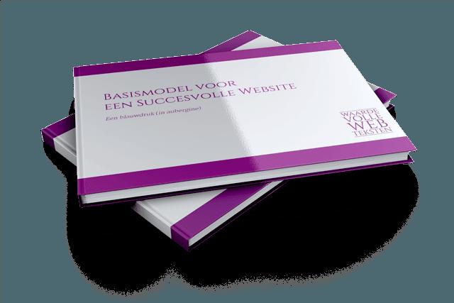 Gratis E-book van Waardevolle Webteksten: Basismodel voor een Succesvolle Website