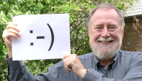 Scott Fahlmann, de grondlegger van de emoticon