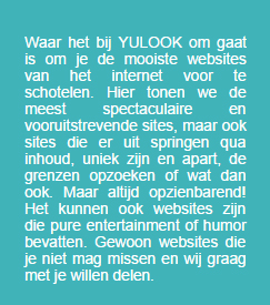 Unieke websites. Je vindt ze op Yulook.nl.